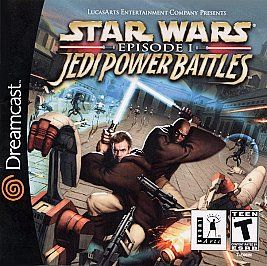 Star Wars Episode I Jedi Power Battles Sega Dreamcast, 2000