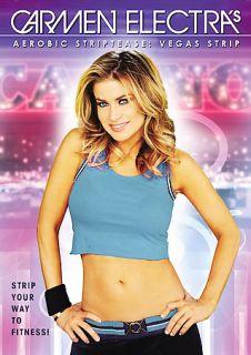 Carmen Electras Aerobic Striptease   Vegas Strip DVD, 2007