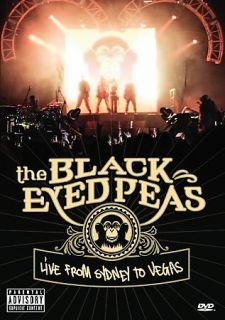 The Black Eyed Peas   Live From Sydney to Las Vegas DVD