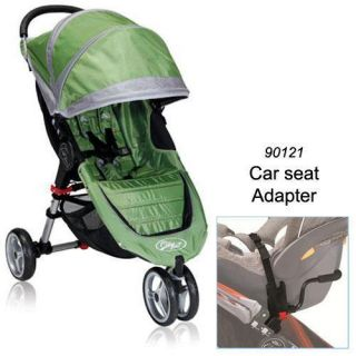 BJ11240 City Mini Single in Green Gray with Car Seat Adapter
