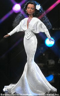 Diana Ross by Bob Mackie 2004 Barbie Doll