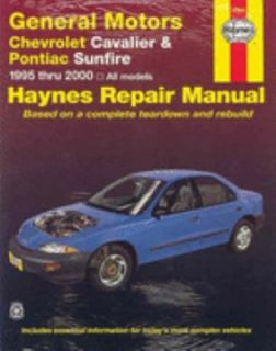 Chevrolet Cavalier and Pontiac Sunfire, 1995 2000 Vol. 38016 by J. H