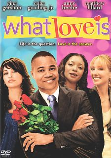 What Love Is DVD, 2008