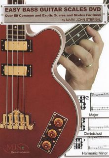 Easy Bass Guitar Scales DVD, 2009