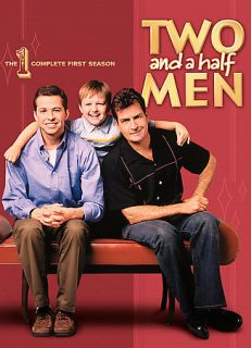 Two and a Half Men   The Complete First Season DVD, 2007, 4 Disc Set