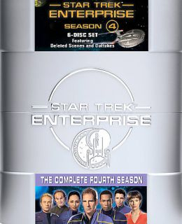 Star Trek Enterprise   The Complete Fourth Season DVD, 2005, 6 Disc