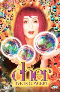 Cher   Live In Concert (DVD, 1999, Close