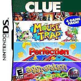 Clue Mouse Trap Perfection Aggravation Nintendo DS, 2007