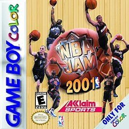 NBA Jam 2001 Nintendo Game Boy Color, 2000