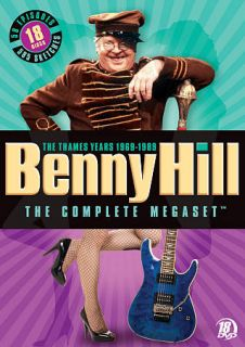 Benny Hill The Complete Megaset DVD, 2010