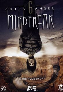 Criss Angel Mindfreak   The Complete Season Six DVD, 2011, 2 Disc Set