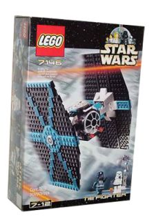 Lego Star Wars Episode IV VI TIE Fighter 7146