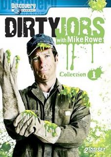 Discovery Channel   Dirty Jobs Collection 1 DVD, 2007, 2 Disc Set