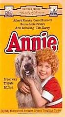 Annie (VHS, 1997, Broadway Tribute Edition; Clam Shell) (VHS, 1997)