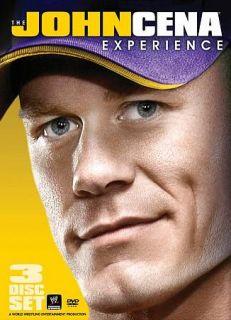 The WWE The John Cena Experience DVD, 2010, 3 Disc Set