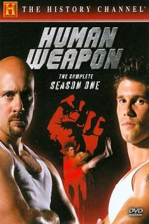 Human Weapon   The Complete Season One DVD, 2008, 4 Disc Set