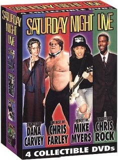 Saturday Night Live 4 Pack DVD, 2000, 4 Disc Set