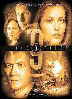 The X Files   The Complete Ninth Season DVD, 2004, 7 Disc Set