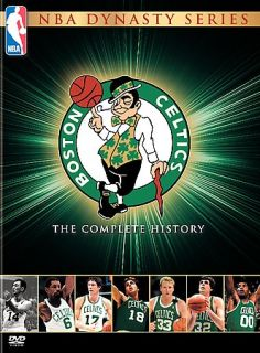 NBA Dynasty Series   Boston Celtics The Complete History DVD, Special