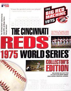 The Cincinnati Reds 1975 World Series Collectors Edition DVD, 2006, 7