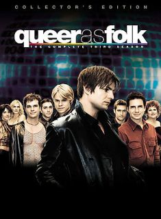 Queer As Folk   The Complete Third Season DVD, 2004, 5 Disc Set