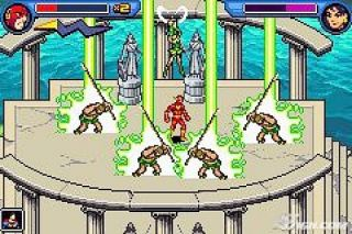 Justice League Heroes The Flash Nintendo Game Boy Advance, 2006