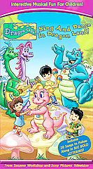 Dragon Tales   Sing and Dance in Dragon Land VHS, 2005