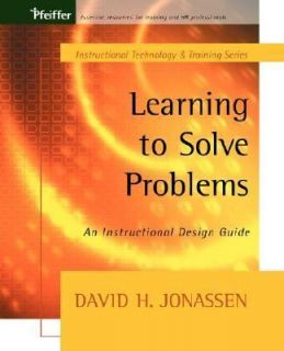 Instructional Design Guide by David H. Jonassen 2003, Paperback