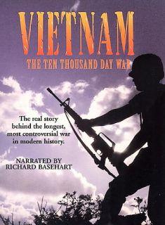 Vietnam The Ten Thousand Day War Boxed Set DVD, 2000, 2 Disc Set