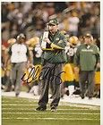 Mike McCarthy Signed Green Bay Packers Mini Helmet Auto