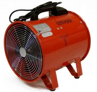 Fume Dust Extractor Fan 300mm 12 Air Ventilation Extraction 110V