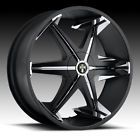 24 DUB Big Homie Shoes Wheels TIRES 24 inch Black RIMS