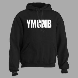 YMCMB ~ HOODED SWEATSHIRT wayne hip hop HOODIE lil young money ALL