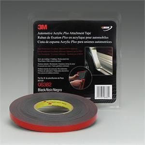 3M 6382 Automotive Acrylic Plus Double Sided Auto Body Attachment Trim