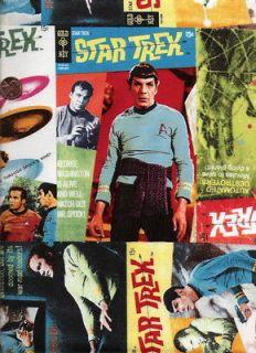 Custom Made 4U Medical Nurse Vet Doctor Scrub Top Star Trek Spock Kirk