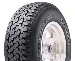 Goodyear Wrangler Radial 235/75R15 Tire Outline White Letter