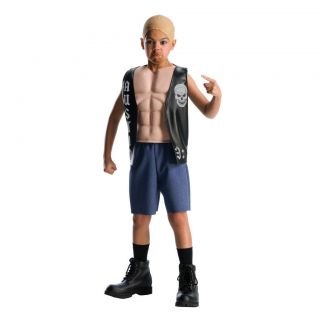 Child WWE Stone Cold Steve Austin Deluxe Muscle Costume