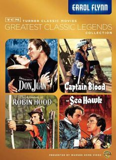 NEW Greatest Classic Legends Errol Flynn DVD Robin Hood