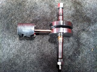 2010 Tomos A55 Streetmate Engine Crankshaft w/ Piston @ Moped Motion