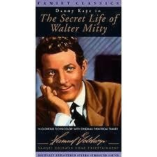 VHS The Secret Life of Walter MittyDanny Kaye Boris Karloff Mayo Ann