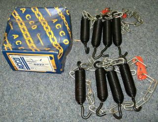NOS New Acco Medium Size Truck Tire Chain Adjusters
