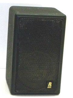 AR 1MS ACOUSTIC RESEARCH MINI BOOKSHELF SPEAKER TELEDYNE SMALL HEAVY