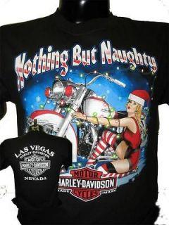 Las Vegas NOTHING BUT NAUGHTY Santa Shirt XXL 2XL RV1940003007
