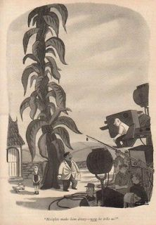 1957 Charles Addams Movie Set New Yorker Cartoon