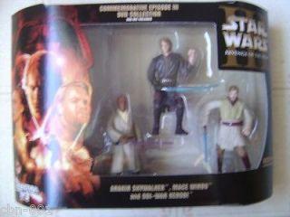 Star Wars Commemorative Episode III DVD Collection Action Figure Set