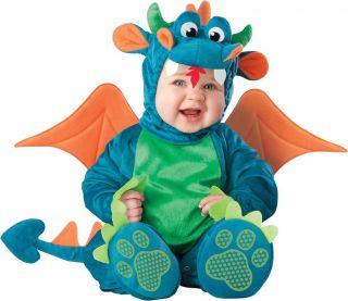 New Cute Funny Infant Baby Dragon Fancy Dress Halloween Costume