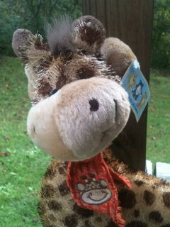 New With Tags Friends for All Seasons Giraffe Stuffed Animal Toy