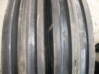 ,550 16, 5.50x16 DEERE FORD 3 rib 4 ply Farm Tractor Tires w/Tubes