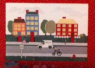 Charming Keith Lawler YESTERYEAR Milk Truck Cross Stitch Pattern