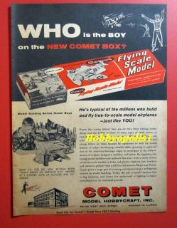 comet model airplane kits